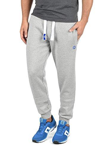 Light Jogging Sport Bennpant Pantalon Melange Doublure Pour 8242 Grey solid Polaire Survêtement De Homme Xvdtan5qwx