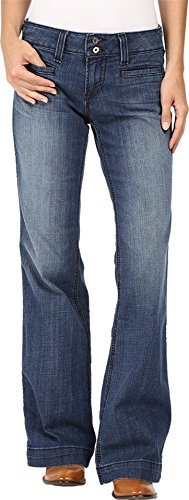 Pants Trousers Jeans (Ariat Womens Trouser Ella 31 R Bluebell)