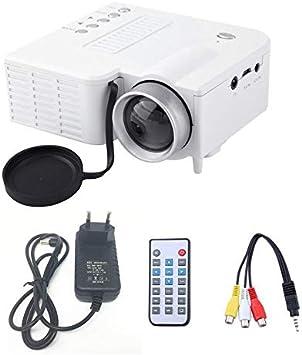 UC28A Mini proyector LED portátil 1080P Multimedia Cine en casa ...