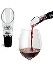 Aerator Pourer Decanter Stopper Filter Wand Rabbit Sulfite Glass Pour Bottle Remover Purifier Red Diffuser
