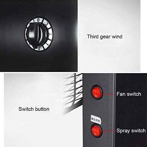 Voetstuk Ventilator Koeling Spray Oscillatie Industriële ventilator Verstelbaar Draaibare ventilatorkop Zakelijk Krachtig Stil Draagbaar 150W Y5UVtWFJ