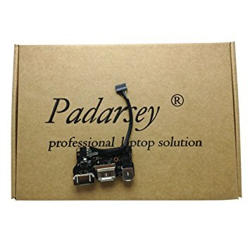 Padarsey New DC-IN Jack I/O Board fit for Apple MacBook Air 13