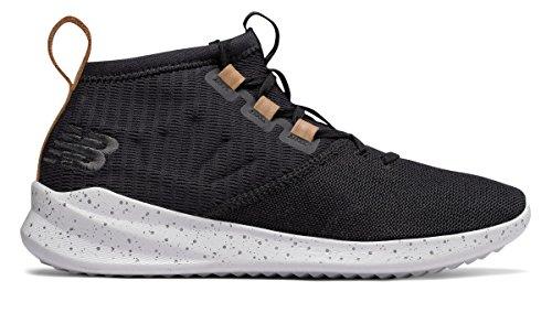 ピービッシュ明示的に欺く(ニューバランス) New Balance 靴?シューズ メンズライフスタイル Cypher Run Knit Black with Vegan Tan Leather ブラック タン US 12 (30cm)