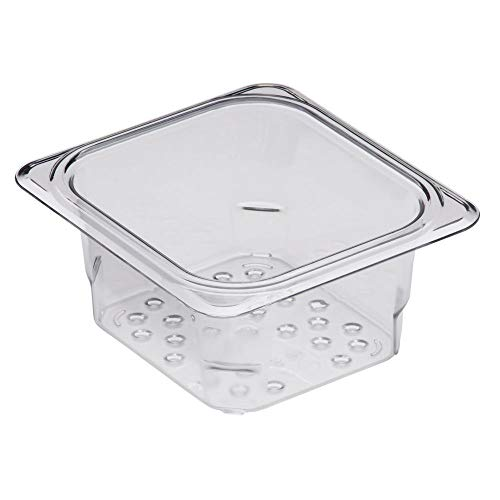 (Cambro 63CLRCW135 Camwear Clear Colander for 3