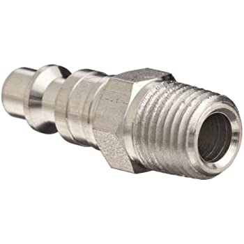 37 CFM Flow Rating 1//4 Coupler x 1//8 NPT Female Thread Quick-Connect Plug Dixon Valve DCP2021 Steel Air Chief Industrial Interchange Air Fitting