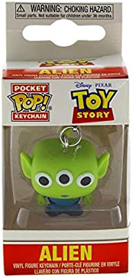Funko-Pocket Keychain: Toy Story: Alien Pop Llavero for Unisex in Standard Made of Vinilo, Multicolor (37055)