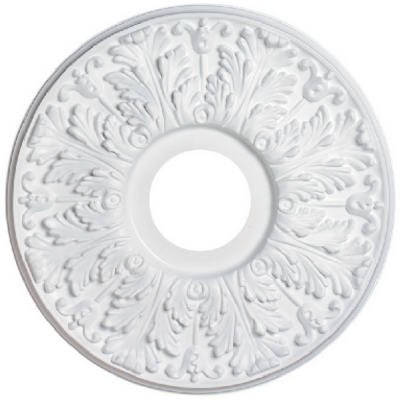 Westinghouse Lighting 77028 White Decorative Ceiling Fan Medallion, 16-In. by Westinghouse Lighting