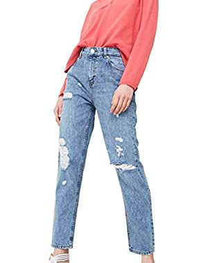 Mango Women's Mom Relaxed Jeans