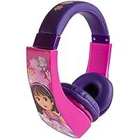 Dora The Explorer HP2-04367-KHL Dora & Friends Kid Safe Over-The-Ear Headphone with Volume Limiter