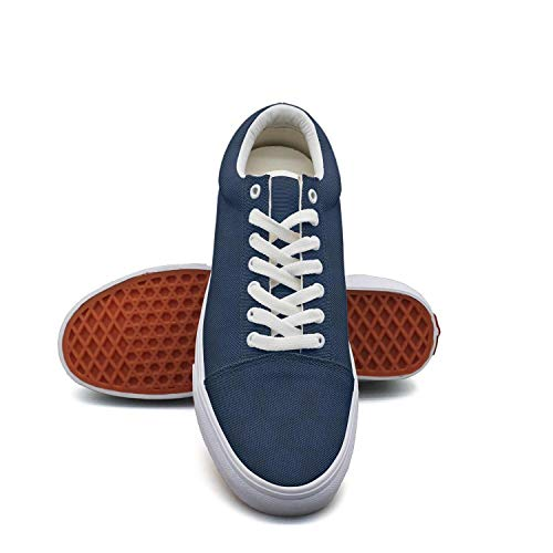 Women's Camouflage Canvas Shoes Straps Miller-Lite-Beer-Month-Club-Blue- Classic Sneakers Suitable for Walking (Back To The Old Skool Club Classics)