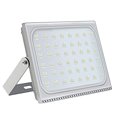 Heilsa LED Flood Light, Super Bright Security Light IP67 Waterproof Outdoor Landscape Flood Light Lamp LED Spotlight for Garden Yard, Party, Playground