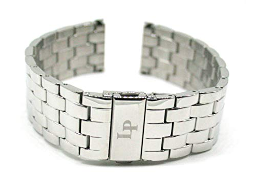 Lucien Piccard 22MM Stainless Steel Band Strap Bracelet 8