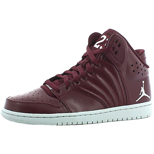 nike Air Jordan 1 Flight 4 Mens Hi Top Basketball Trainers 820135 Sneakers Shoes (US 8.5, Red) by NIKE