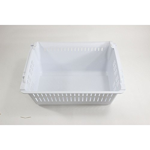 Samsung DA97-06258C Refrigerator Freezer Basket, Lower Genuine Original Equipment Manufacturer (OEM) Part