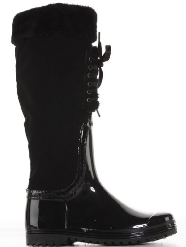 Womens Ladies Wellys Wellies Wellington Snow Knee Boots Size 3 - 8 EzDutZWPI