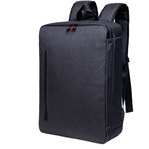 HXG Laptop-Rucksack 16-Zoll-Wasserdichte Reisetasche Mode Lässig Händler   Leichte Männer und Frauen Rucksack Große Kapazität Polyester Schwarz433217