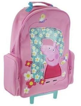 peppa pig suitcase on wheels