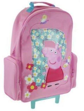 Peppa Pig - Trolley Bag Kids Luggage Wheeled Bag Suitcase: Amazon ...