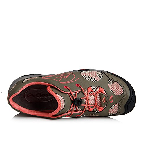 Clorts Womens Water Shoes Athletic Sport Lightweight Walking Shoes 3H022C Pink qHZydF
