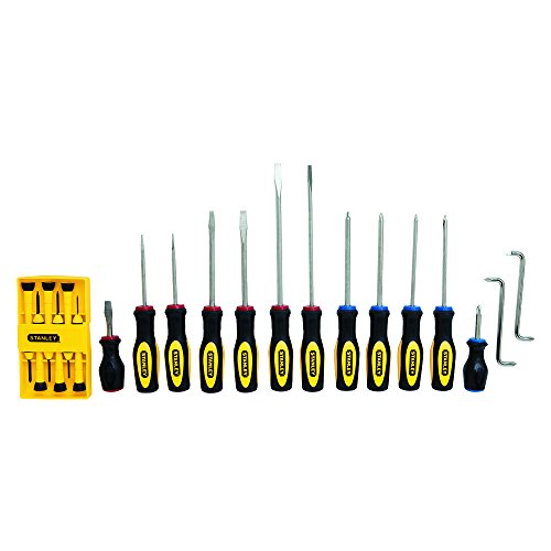 Stanley 60-220 Standard Fluted Screwdriver Set, 20 Piece by Stanley
