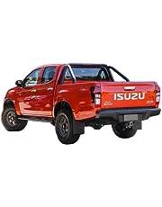 Tuff Tonneaus Isuzu D-Max Dual Cab Genuine No Drill Clip On Ute Tonneau Cover (Suits Factory Sports Bars)