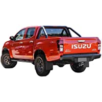 Tuff Tonneaus Isuzu D-Max Dual Cab Genuine No Drill Clip On Ute Tonneau Cover (Suits Factory Sports Bars)