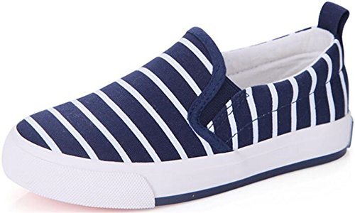 ppxid-boys-girls-stripe-canvas-slip-on-loafers-casual-sneakers-student-school-shoes-blue-12-us-littl