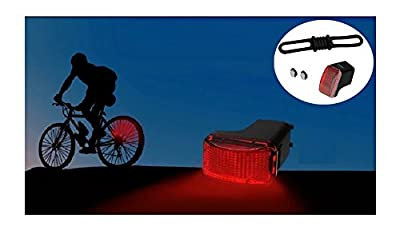 Ysiop Self Powered Bike Spoke Tail Light No Batteries,Not Need Recharge Cycling Safety Rear Light with Magnet,Electromagnetic Spontaneous Electric Bicycle Taillight,LED Flashlight Waterproof Lighting