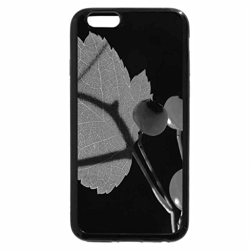 iPhone 6S Plus Case, iPhone 6 Plus Case (Black & White) - Cherries