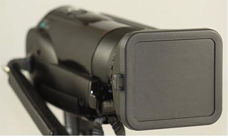 Flower Design Sony Handycam HDR-PJ540 Pro Digital Lens Hood + Stepping Ring 46-58mm Nwv Direct Microfiber Cleaning Cloth. 58mm