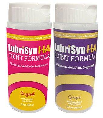 Lubrisyn HA  Hyaluronan Joint Supplement Grape 3 x 11.5 oz b