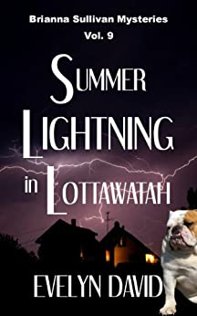 Summer Lightning in Lottawatah (Brianna Sullivan Mysteries Book 9) by [David, Evelyn]