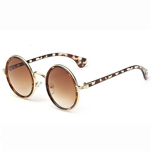 Gafas Los H Sol Moda Reflective Ojos Mirror Unisex Prince Sol Eyeglasses Gafas Windproof Round G Colored Informal Gafas Ciclismo De De De Vintage Cuidado De Rqxrw4RO
