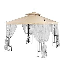 Garden Winds Replacement Canopy for Home Depot\'s Arrow Gazebo