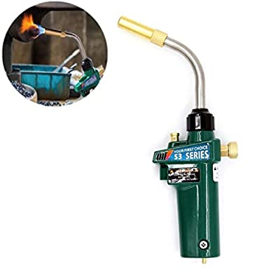 MAPP Welding Brazing Torch Gas Self Ignition Turbo Torch Solder Propane
