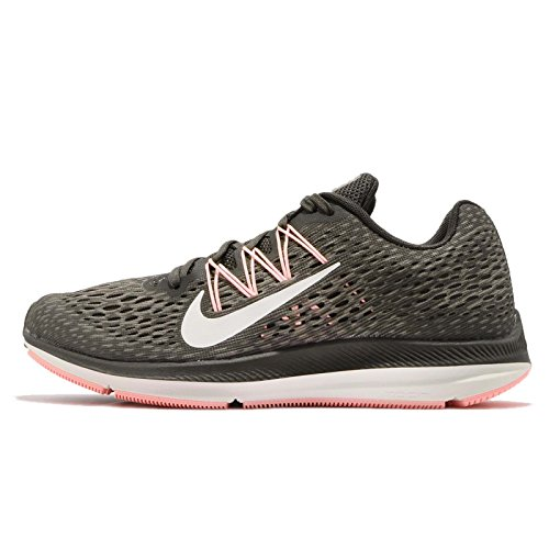 Nike Wmns Zoom Winflo 5, Zapatillas de Running para Mujer Multicolor (Newsprint/Summit White-dark Stucco 004)