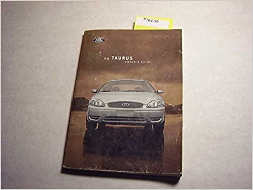 2012 ford taurus owners manual   just give me the damn manual.