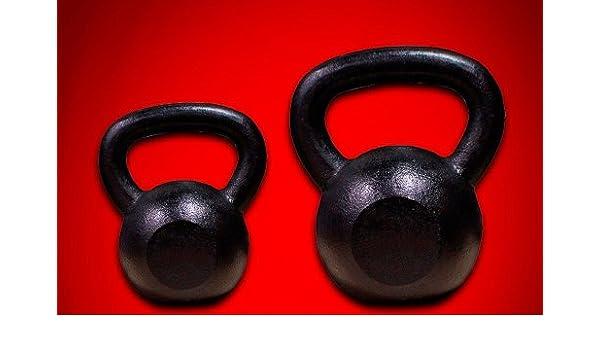 Mancuernas de pesas para pesas MTN 25 + 35 libras pintadas en negro: Amazon.es: Deportes y aire libre