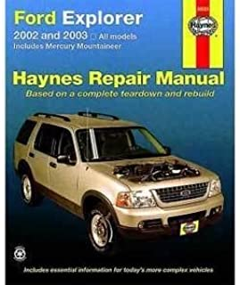 ford explorer mercury mountaineer haynes repair manual 2002 2010 rh amazon com 2008 Ford Explorer Troubleshooting 2008 Ford Explorer Transmission Service