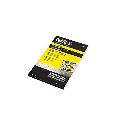 Wire Marker Book-Household Electrical Panel Klein Tools 56254