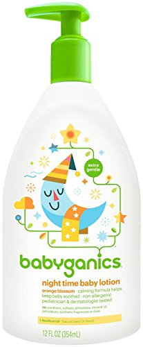 BabyGanics Smooth Moves Night Time Baby Lotion - Natural Orange - Store Blossom Orange