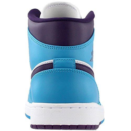 Violet Jordan Air Grand Nike Bleu nbsp;Mid 1 Homme Lagon Chaussure qHw5z6O