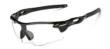 Embryform Gafas Deportivas, Gafas De Ciclismo, Para Esquiar Golf Riding Conducir Pesca Senderismo y