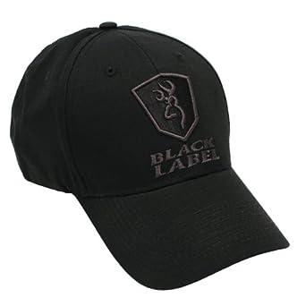 buy online 7e196 2230e ... buy browning mens label patrol cap black one size amazon clothing 9eff5  c77b9