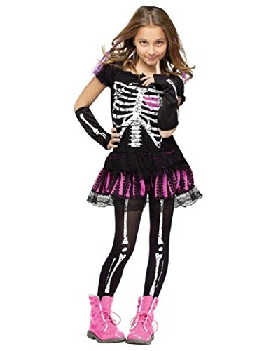 Sally Skelly Kids Costume -