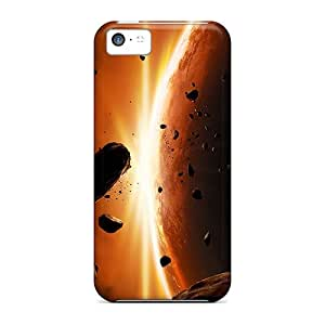 Awesome Luckmore Defender Tpu Hard Case Cover For Iphone 5c- Space