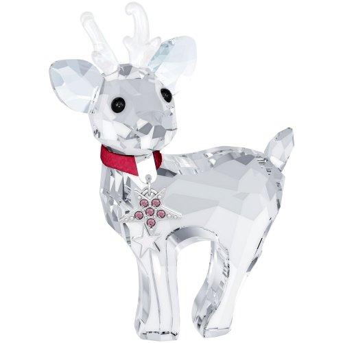Swarovski Crystal Christmas Figurines - Swarovski Crystal Christmas Figurine BABY REINDEER #5000424