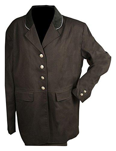 Eous Olympia Adult Coat, Black Velvet, 18