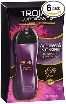 Trojan Lubricants Personal Lubricant Arouses & Intensifies - 3oz