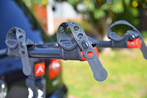 Allen Sports Premier Locking Quick Release 2-Bike Carrier for 2 in. & 1 4 in. Hitch by Allen Sports (Image #2)